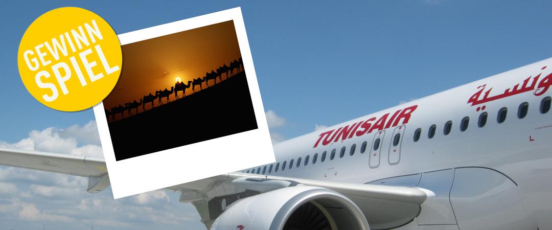 Das Wetter in Deutschland ist Ihnen zu kalt? Jetzt mit Tunisair zwei Flüge nach Tunesien gewinnen!