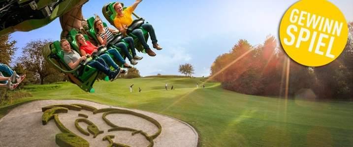 Gewinnen Sie eine Übernachtung im 4-Sterne-Hotel inkl. Eintritt in den Europa-Park und Greenfee für den Golfclub Breisgau