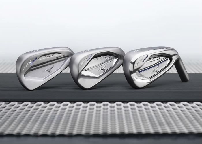 Drei Eisensätze gibt es in der JPX900 Serie.