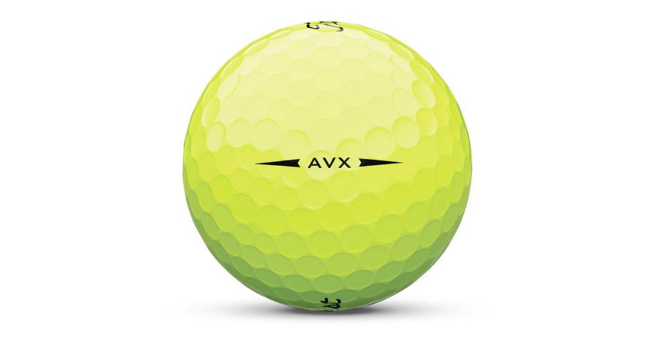 Den Titleist AVX Golfball gibt es auch in neon-gelb. <br>(Foto: Titleist)
