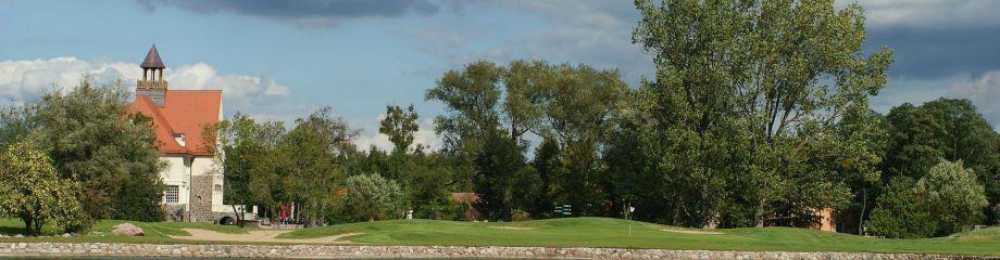 Blick auf das Clubhaus (Foto: Golf & Country Club Schloß Krugsdorf)