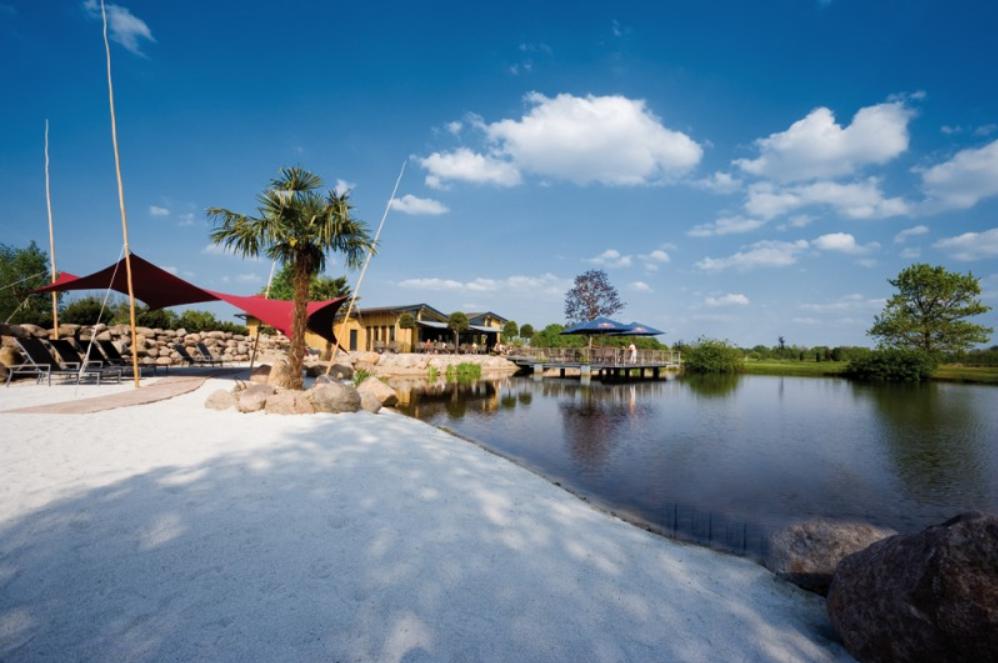 Das Clubhaus - der perfekte Ort zur Entsannung nach der Runde. (Quelle: Golfanlage Green Eagle)