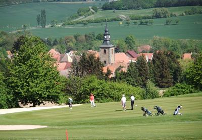 Impressionen von einer Runde auf dem Golfplatz des GC Schloss Meisdorf. (Quelle: GC Schloss Meisdorf)