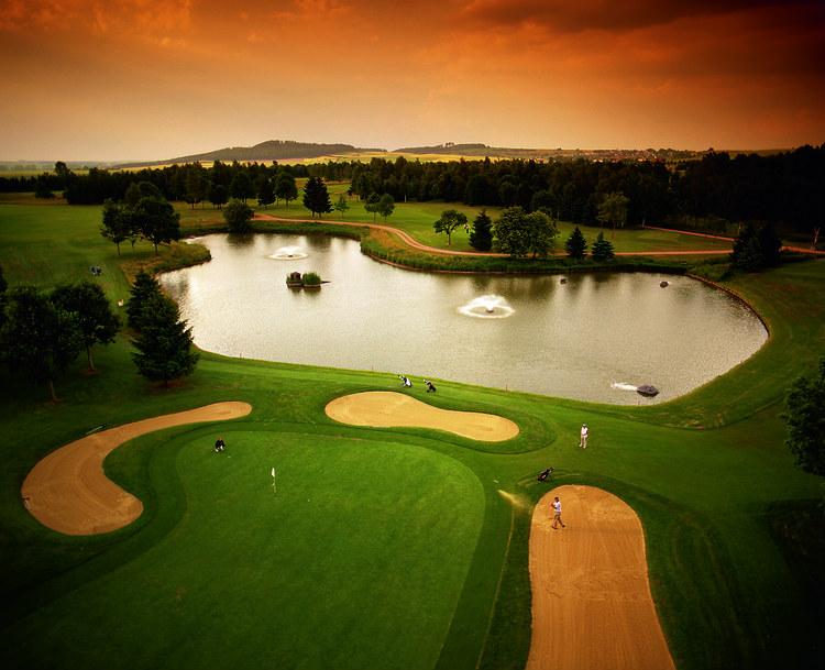 Der Golfplatz des GC Öschberghof von oben. (Foto:GC Öschberghof)