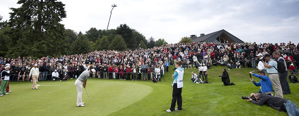 Grün 9 während der Schüco Open (Foto: GC Hubbelrath)