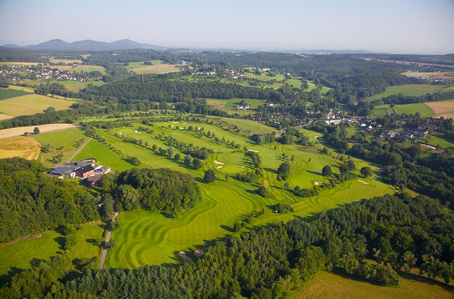 Luftaufnahme vom Golf Course Siebengebirge. (Foto: Golf Course Siebengebirge)