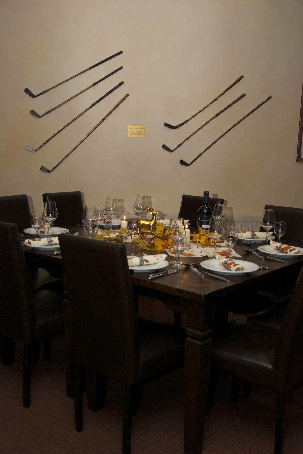 Das Restaurant ist sehr stilvoll gestaltet.(Foto: GC Bad Wildungen)