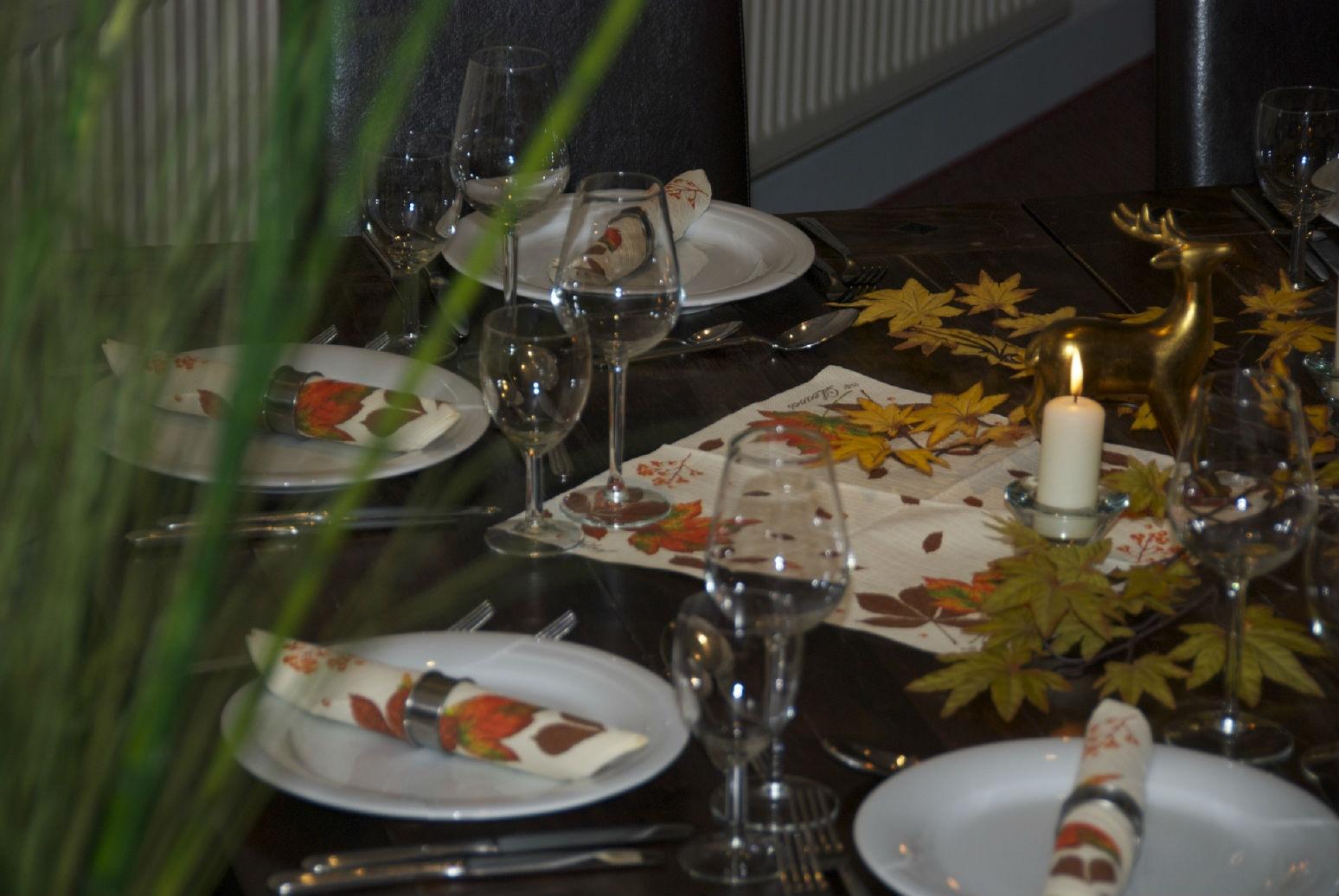 Das Restaurant ist auch unabhängig vom Golfen immer einen Besuch wert. (Foto: GC Bad Wildungen)