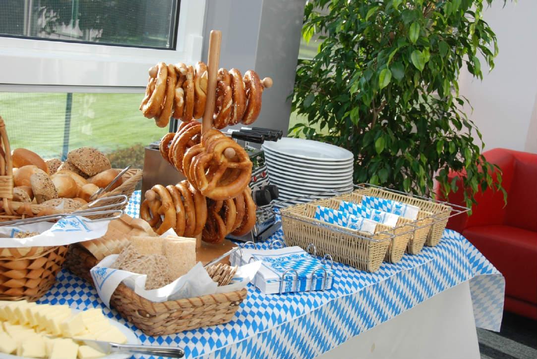 Hier bleiben auch kulinarisch keine Wünsche offen. (Foto: GC Bad Wildungen)