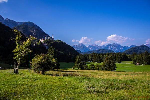<h2>Schöne Aussichten</h2> Die Region Allgäu bietet sehr abwechslungsreiche Landschaftsbilder (Foto: flickr).