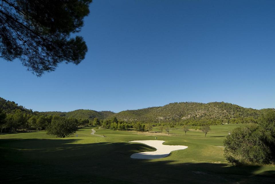 Die Back 9 vermitteln zudem einen sehr schönen Ausblick auf die Inselhauptstadt Palma de Mallorca. (Foto: Arabella Son Quint)