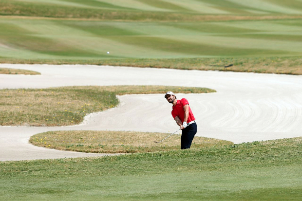 <<enter caption here>> at Binhai Lake Golf Course on May 4, 2013 in Tianjin, China.