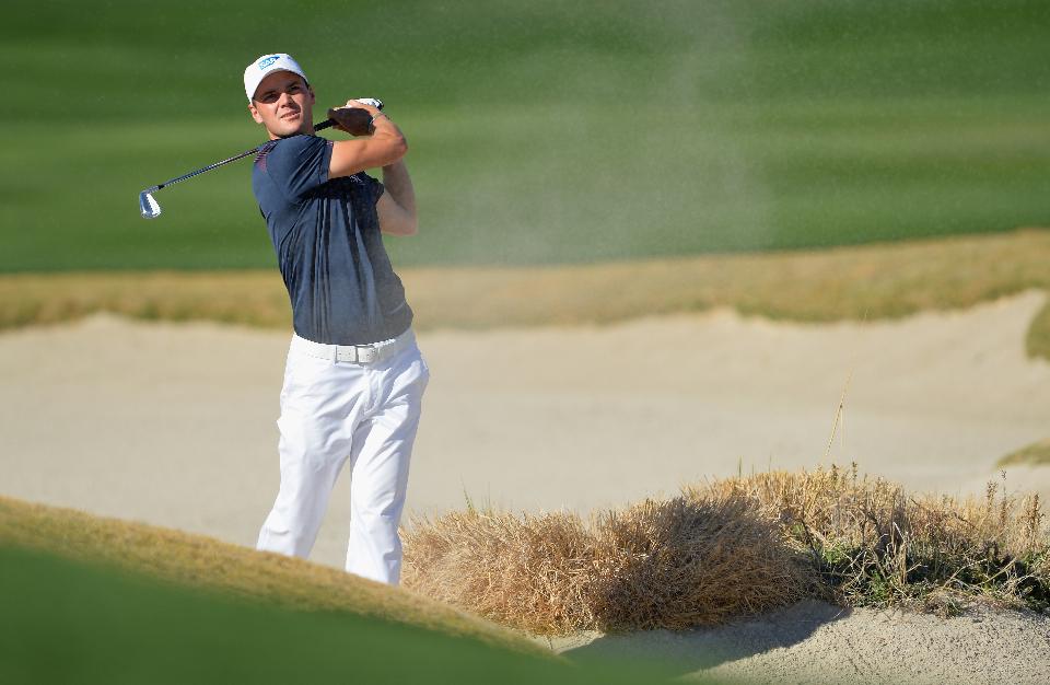 ...um sich perfekt auf sein erstes Match bei der World Golf Championships - Accenture Match Play vorzubereiten... (Foto: Getty Images)