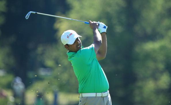 Nach dem ersten Tag führt der Inder Anirban Lahiri, der bis jetzt noch keine Top-Ten-Platzierung auf der European Tour erreicht hat. (Foto: Getty)