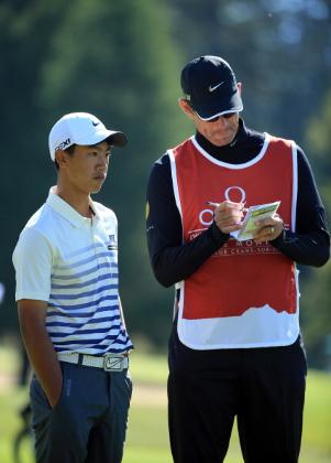 Erst 13 ist Ye Wo-cheng aus China und spielt trotzdem als Amateur bereits sein zweites Turnier auf der Tour. (Foto: Getty)