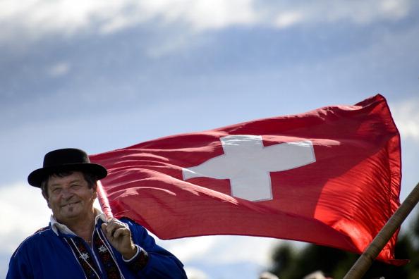 ... auf 1500m Höhe in den Walliser Alpen ausgespielt. Im französischen Teil der Schweiz... (Foto: Getty)
