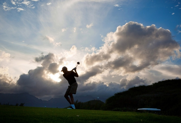 Barack Obama auf dem Golfplatz - Bildergalerie