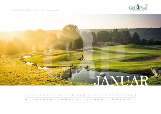 Januar - WINSTONgolf