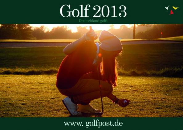 Golfkalender 2013 Titelbild