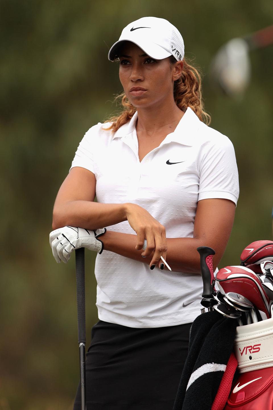Cheyenne Woods, die Nichte von Tiger Woods, liegt nach der dritten Runde auf dem geteilten 23. Platz. (Foto: Getty)