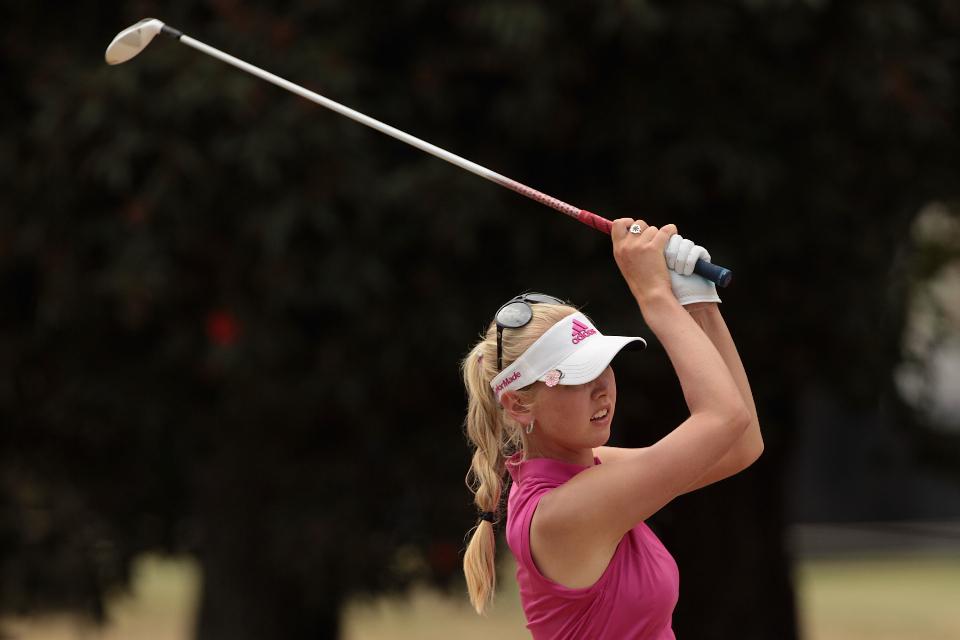 Jessica Korda liegt mit sieben unter Par auf dem geteilten 16. Platz nach der dritten Runde. (Foto: Getty)