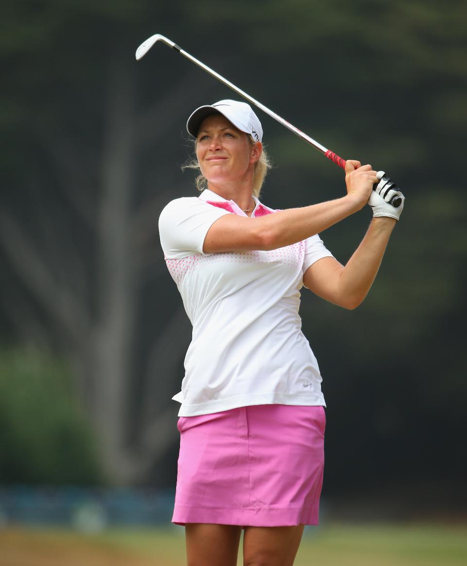 Die Norwegerin Suzann Pettersen liegt nach der dritten Runde mit zehn unter Par auf dem vierten Platz. (Foto: Getty)
