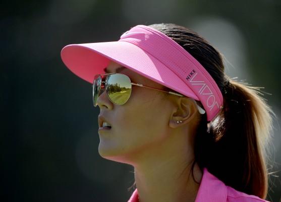Zum Beispiel Michelle Wie.... (Foto: Getty)