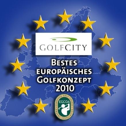 GolfCity wurde überdies als bestes europäisches GolfKonzept 2010 ausgezeichnet. (Foto: GolfCity)