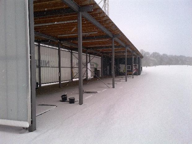 Dank Wintergrüns und überdachter Abschlagplätze ist der Platz auch zur kalten Jahreszeit bespielbar. (Foto: GolfCity)