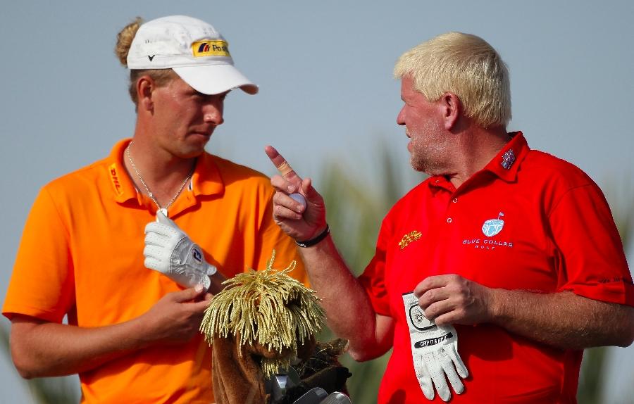 Golf Post  - Marcel Siem in Doha im Februar 2012