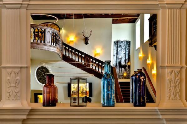 Modernes Design ist ins Schlosshotel Fleesensee eingezogen.