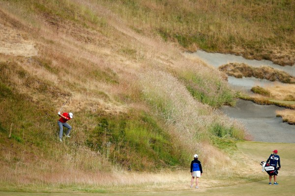 US Open Auftakt - der Krater-Krimi hat begonnen