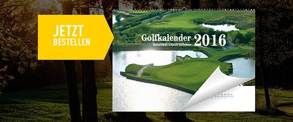 Golfkalender 2016 - Mehr Informationen