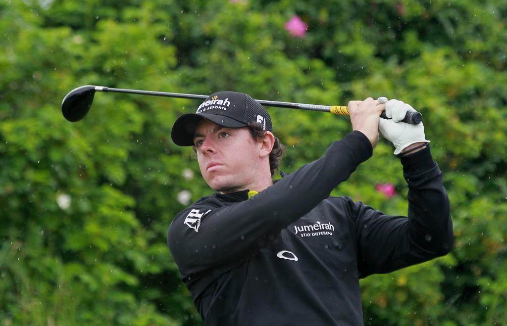 Rory McIlroy nimmt 2012 an den folgenden Turnieren teil.