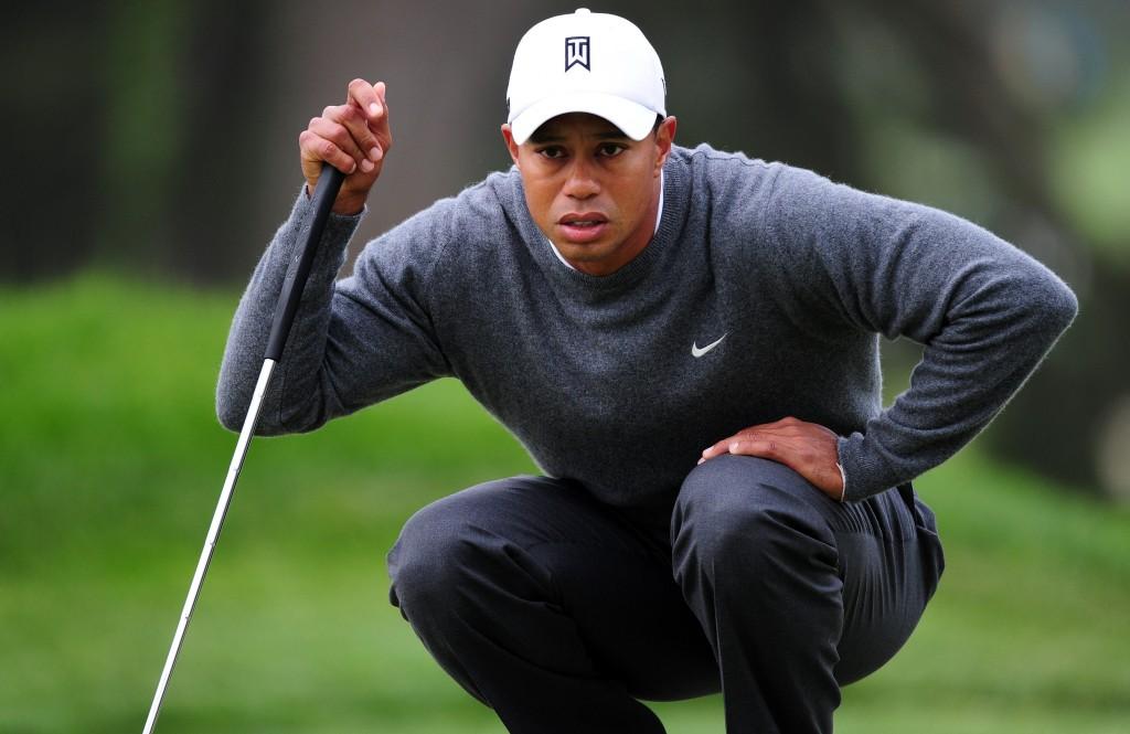 Tiger Woods nimmt 2012 an den folgenden Turnieren teil.