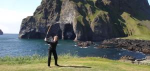 Tolle Landschaften: Island für Golfer einiges zu bieten