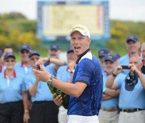 2012 konnte Marcel Siem die Alstom Open de France auf dem Le Golf National in Paris, Frankreich, gewinnen. (Foto: Getty)