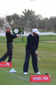 Max Kieffer und Tiger Woods