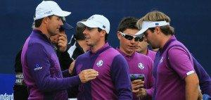 Beim Ryder Cup treten die Spieler in Teams zu je zwölf Spieler an. (Foto: Getty)
