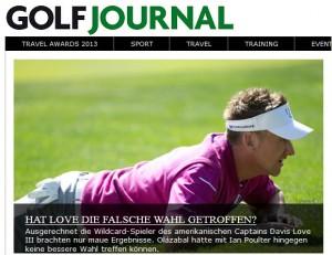 Golf Journal bietet neben der Offlineversion auch eine Online-Plattform