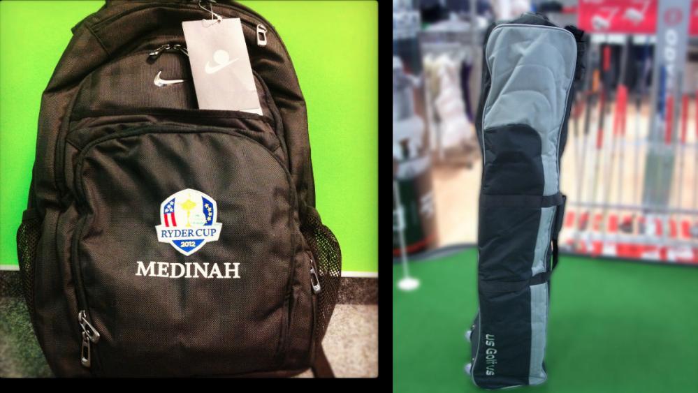 Ryder-Cup-Rucksack und Travel-Bag zu gewinnen