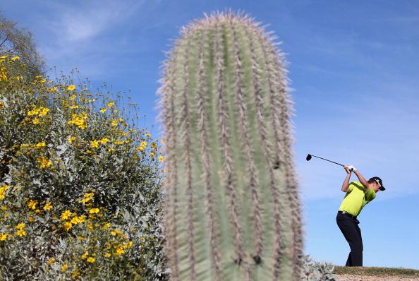 Die Waste Management Phoenix Open in Scottsdale, Arizona.