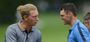 Kaymer und Siem (li.) am Start in Wentworth bei der BMW PGA Championship (Foto: Getty)