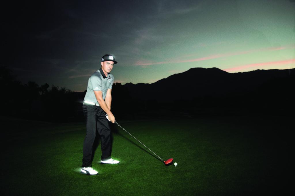 Rickie Fowler mit dem PUMA Titan Tour Flash (Foto: PUMA Golf)