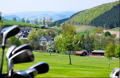 Die öffentliche Golfanlage Am Mollenkotten Wuppertal. (Foto: Öffentliche Golfanlage Am Mollenkotten Wuppertal)