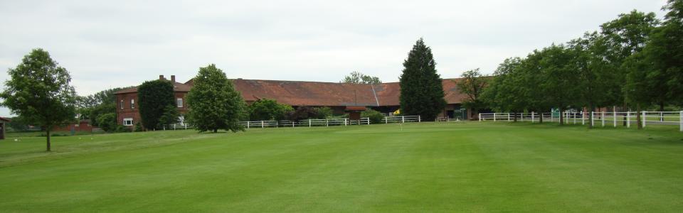 Der Golfplatz Werne a. d. Lippe ist eine 9-Loch-Anlage. (Foto: www.golfplatz-werne.de)