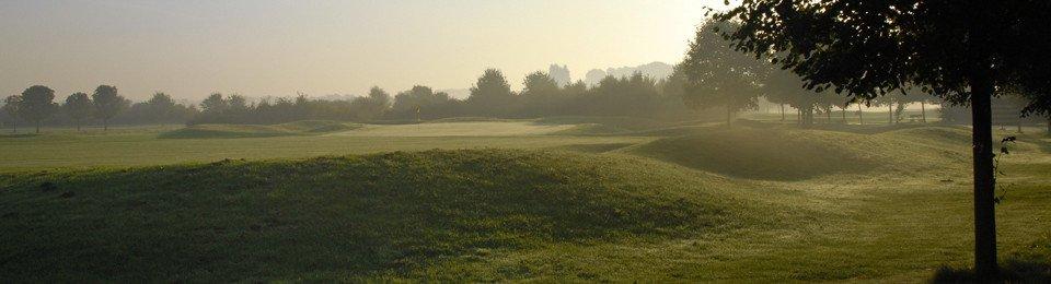 Ein schöner Blick auf den  Golfclub Op de Niep