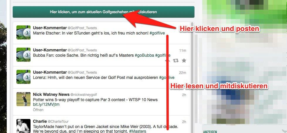 Golf Post Social Media Dashboard