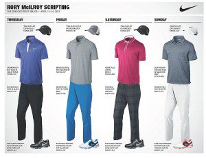 Rory McIlroy Outfit