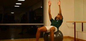 Eine Übung im zweiten Teil unserer Trainings-Videos ist der Sonnenanbeter (Foto: Golf Post).